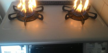 Phương pháp sửa chữa bếp gas lửa không đều