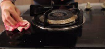 Vệ sinh bếp gas âm